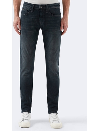 Jake Dusty Distressed Lacivert Pantolon