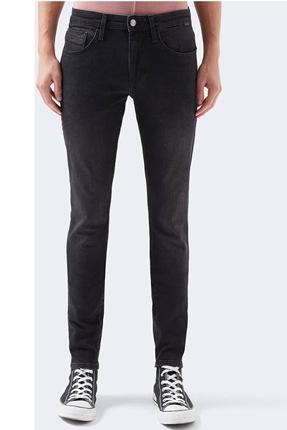 Leo Smoke Comfort Siyah Pantolon