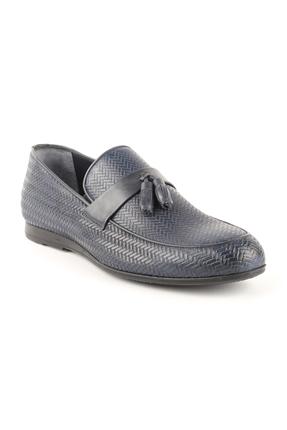 T1422 Lacivert Erkek Loafer Günlük Ayakkabı