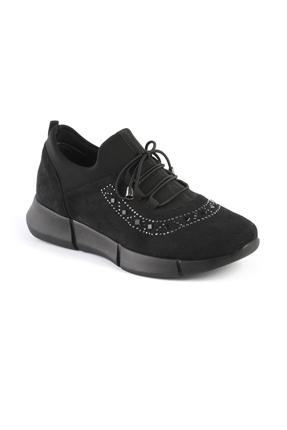15102 Siyah Bayan Spor Ayakkabı