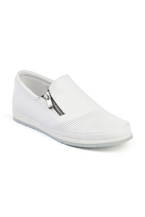 Fms 202 Beyaz Bayan Casual Ayakkabı
