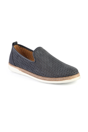 3397 Lacivert Erkek Loafer Ayakkabı