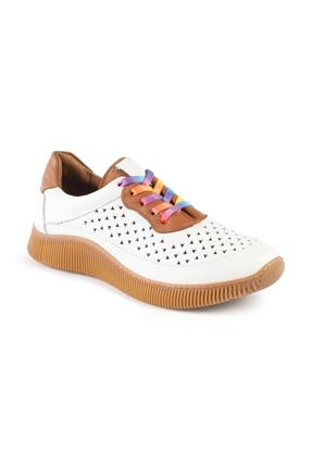 Ms 3532 Beyaz Bayan Spor Ayakkabı