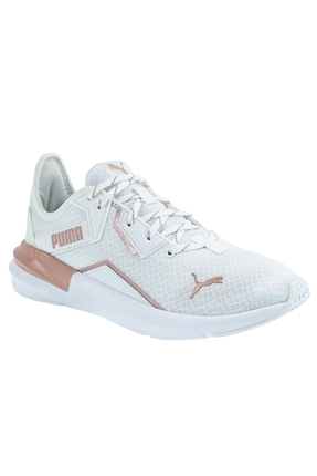 Platinum Metalic Beyaz Spor Kadın Ayakkabı