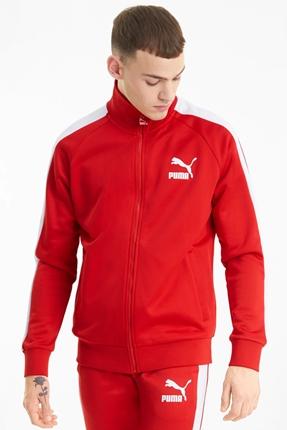 Iconic T7 Erkek Kırmızı Ceket
