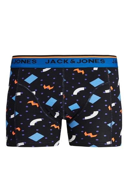 Jack & Jones Rain Trunks Siyah Erkek Boxer 12182985-B