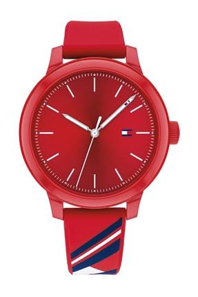 Kırmızı Kadın Kol Saati