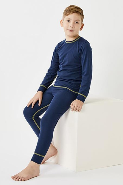 Thermoform Ribana Lacivert Çocuk İçlik HZT4030