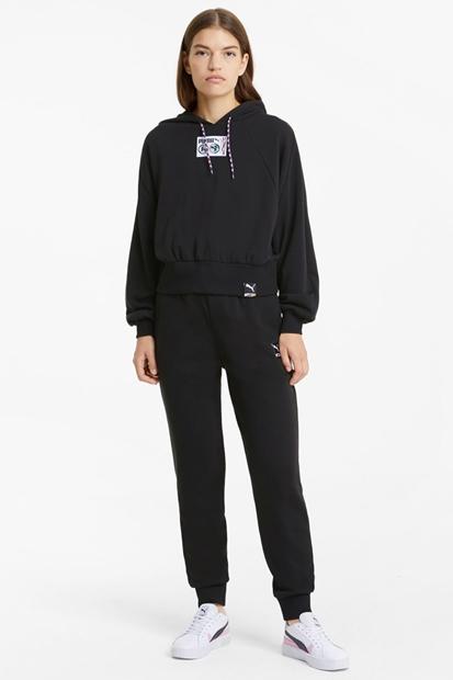 Puma Knit Track Siyah Kadın Eşofman Altı 599709-01