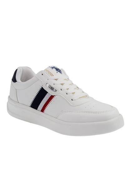 U.S. Polo Assn. Elita Beyaz Kadın Ayakkabı 100606370-38