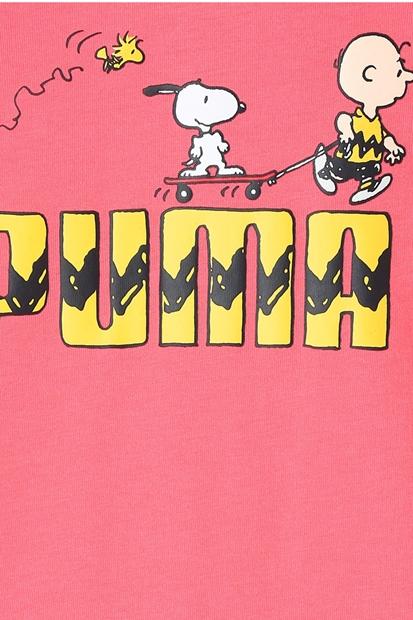 Puma X Peanuts Pembe Çocuk Tişört 599463-42