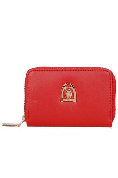 U.S. Polo Assn. Kırmızı Kadın Cüzdan USC20475