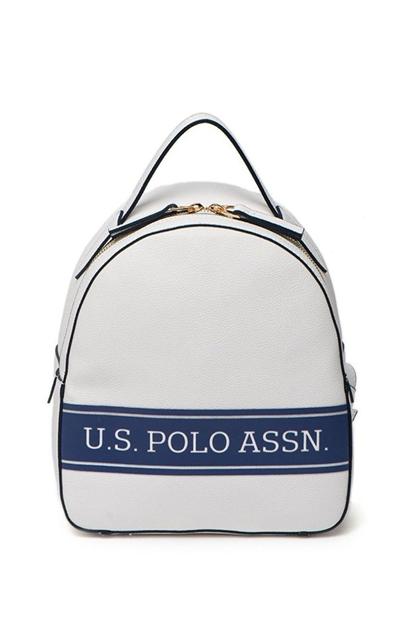 U.S. Polo Assn. Beyaz Kadın Sırt Çantası US20263