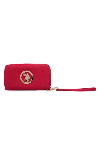 U.S. Polo Assn. Kırmızı Kadın Cüzdan USC20457