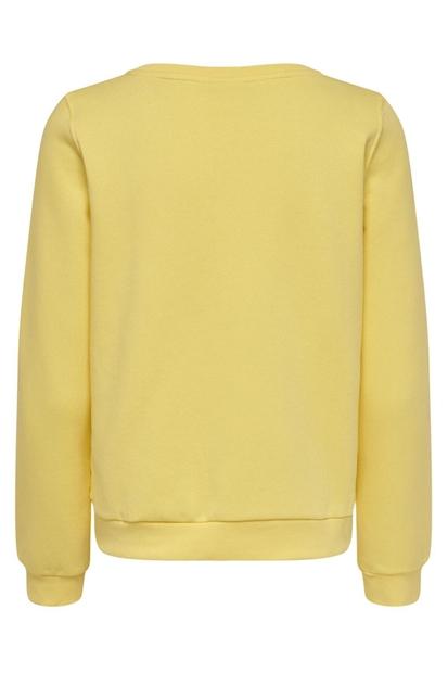 Only Wendy Life Sarı Kadın Sweatshirt 15199788-PS5