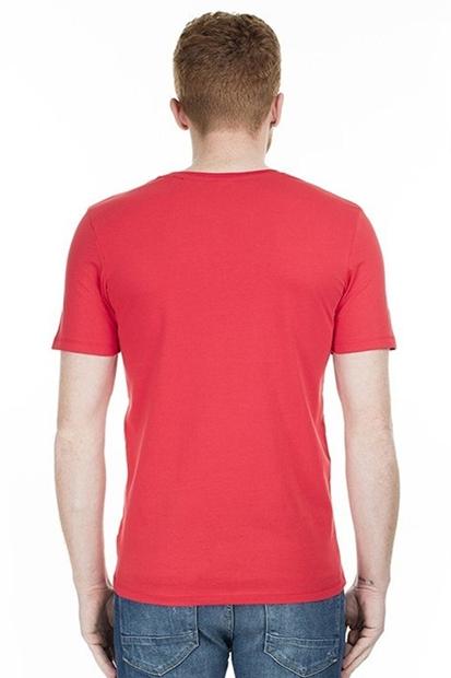 Jack & Jones Raba Kırmızı Erkek Tişört 12172222