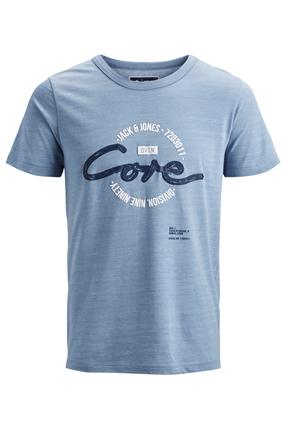 Brush Tee Mavi Erkek Tişört