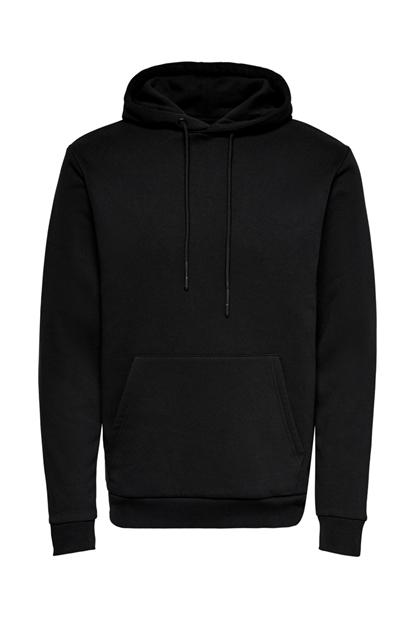 Only Ceres Life Erkek Siyah Sweatshirt 22018685-B