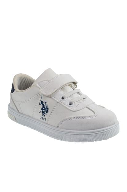 U.S. Polo Assn. Glock Beyaz Erkek Çocuk Sneakers 100429385