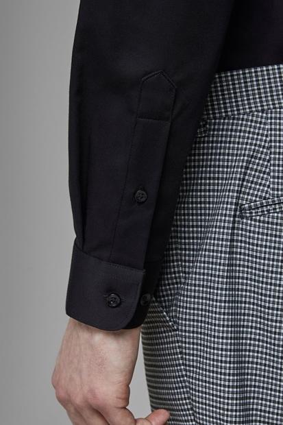 Jack & Jones Parma Siyah Erkek Gömlek 12097662-B