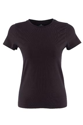1m Ct129 Basic Siyah Kadın Tişört