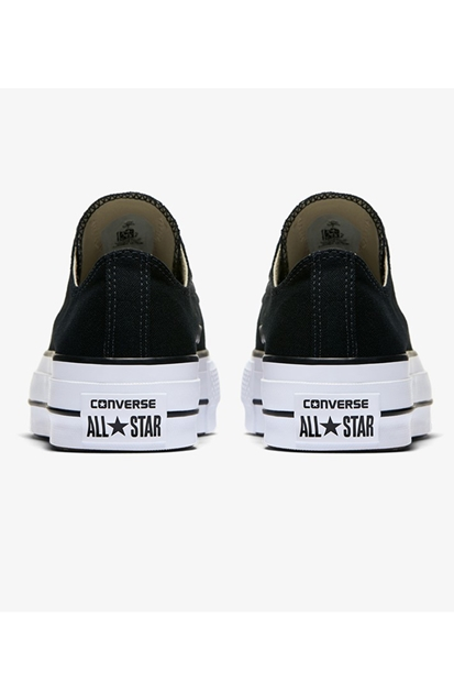Converse Chuck Taylor All Star Lift Ox Siyah Ayakkabı 560250C.001