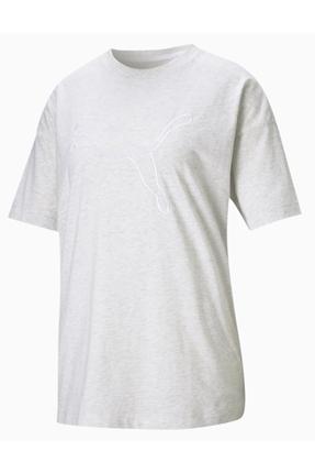 Her Tee Gri Kadın Tişört