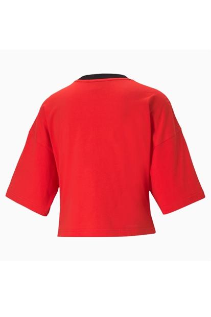 Puma International Kırmızı Kadın Tişört 599702-23