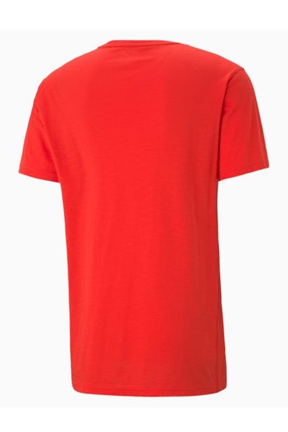 Puma Performance Graphic Kırmızı Erkek Tişört 520148-23