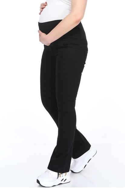 İşşıl 322-Lycra Pamuk Yarım İspanyol Paça Hamile Kot Pantolon 20Ypmpnt002