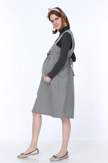 İşşıl 9743-Kazayaği Fiyonk Mini Jile Hamile Elbise 19Kenjle002