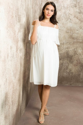Hamile Baby Shower Mini Elbise