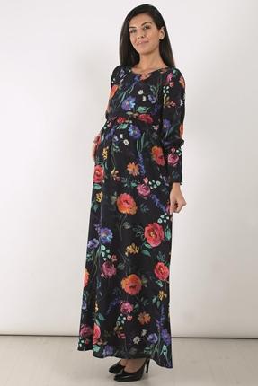 Yasemin Çiçek Maksi Elbise