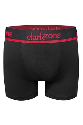 Darkzone Düz Siyah Modal Boxer